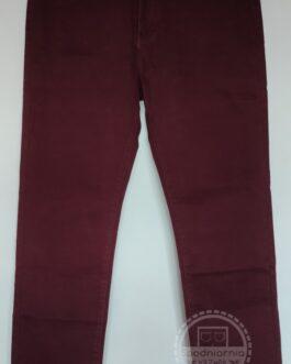 Kaiweishi jeans bordowe